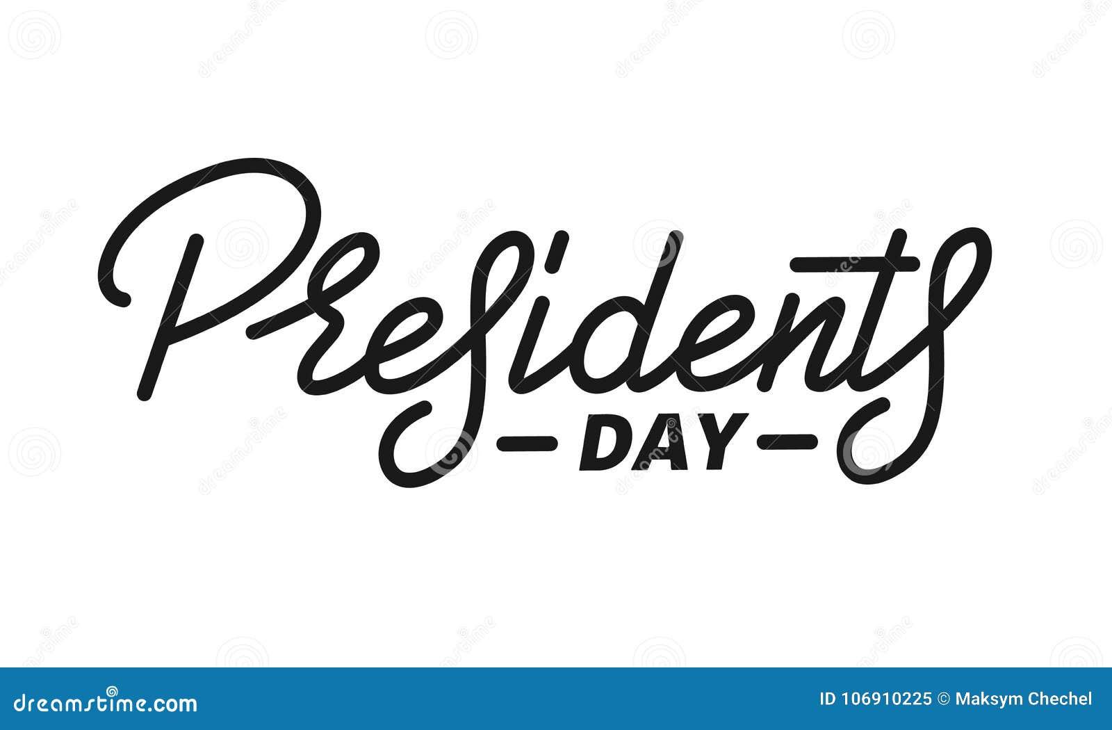 Dzień ikon prezydent ustawiający Pisma literowania projekta prezydenci dni
