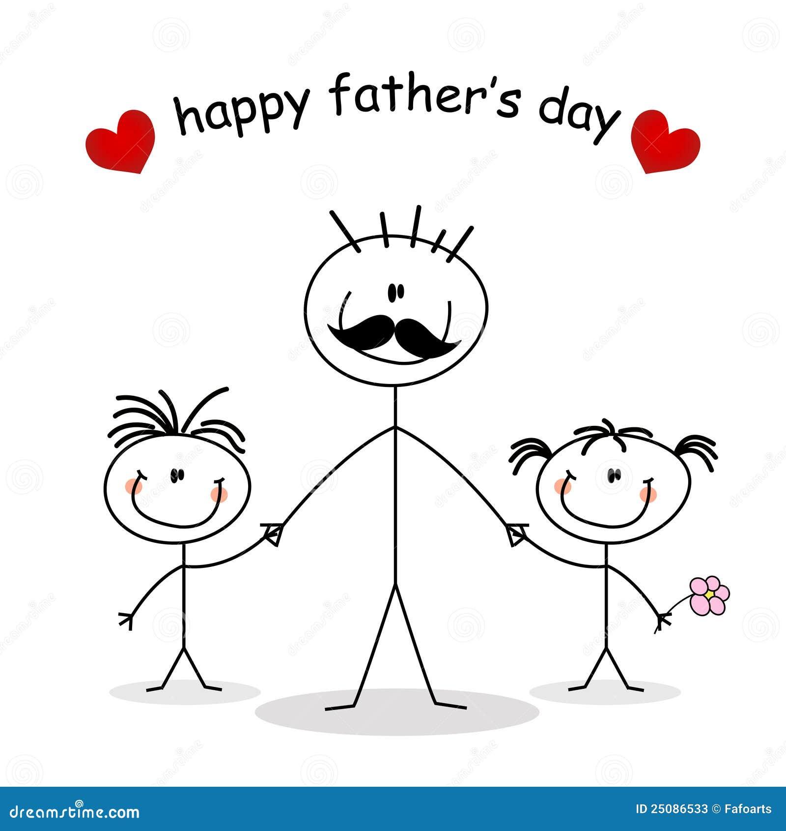 Dzień karciany ojciec s
