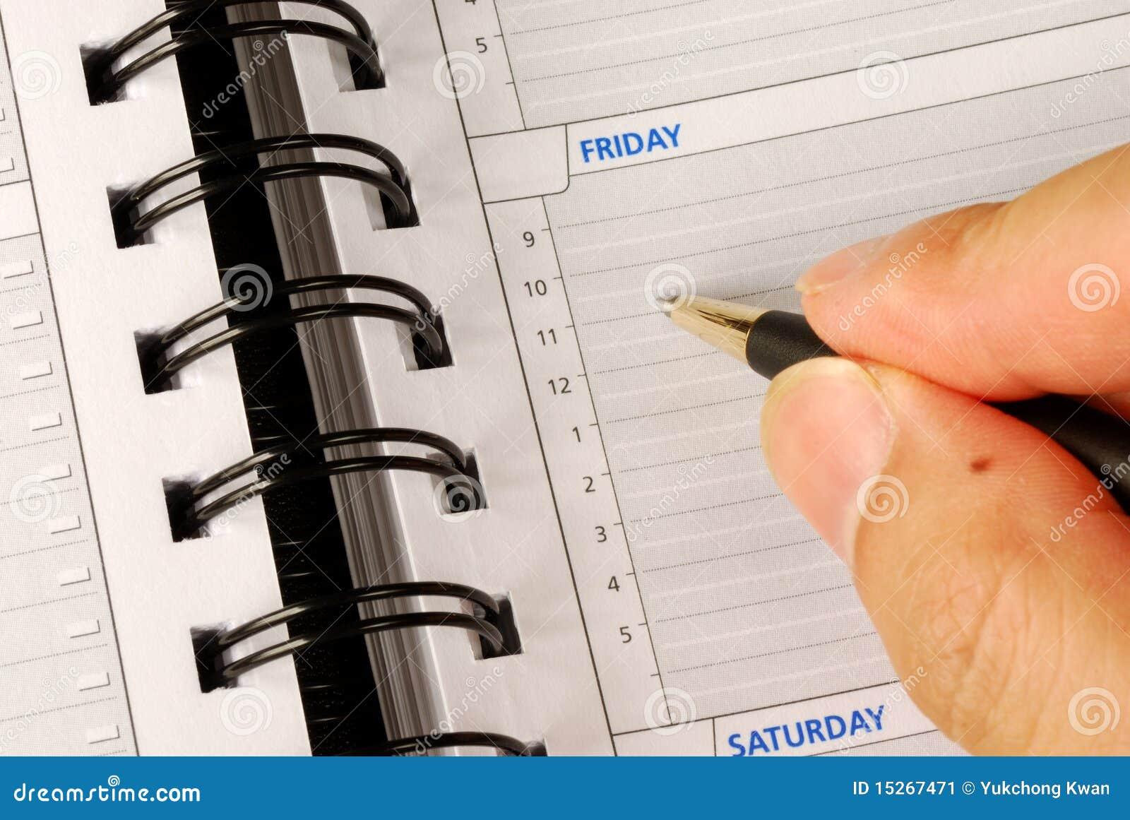 Dzień zestrzela planisty co pisze
