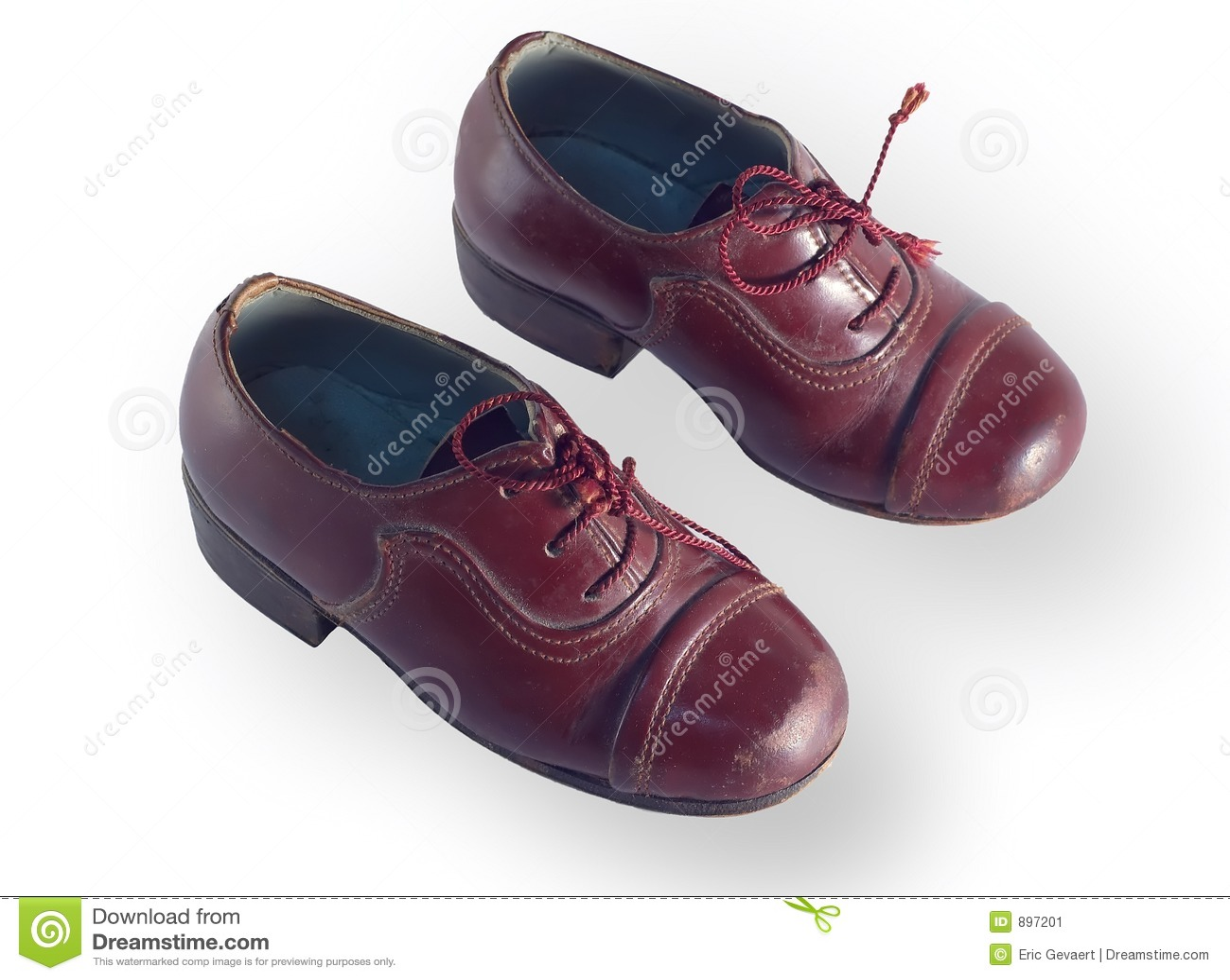 Dzieci antykwarscy buty.