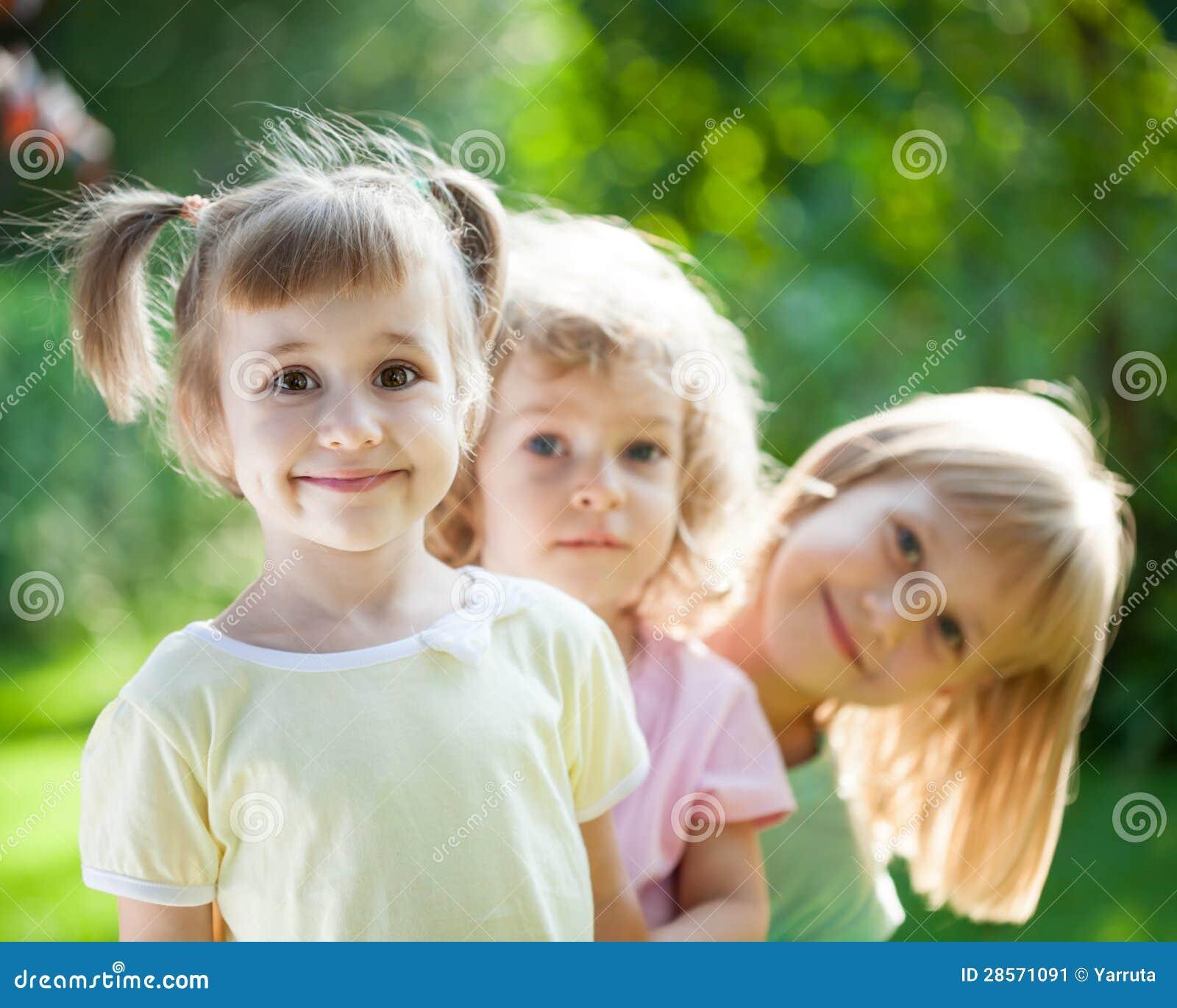 Dzieci bawić się pinkin