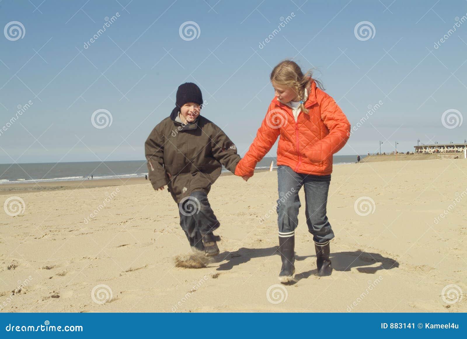 Dzieci do plaży
