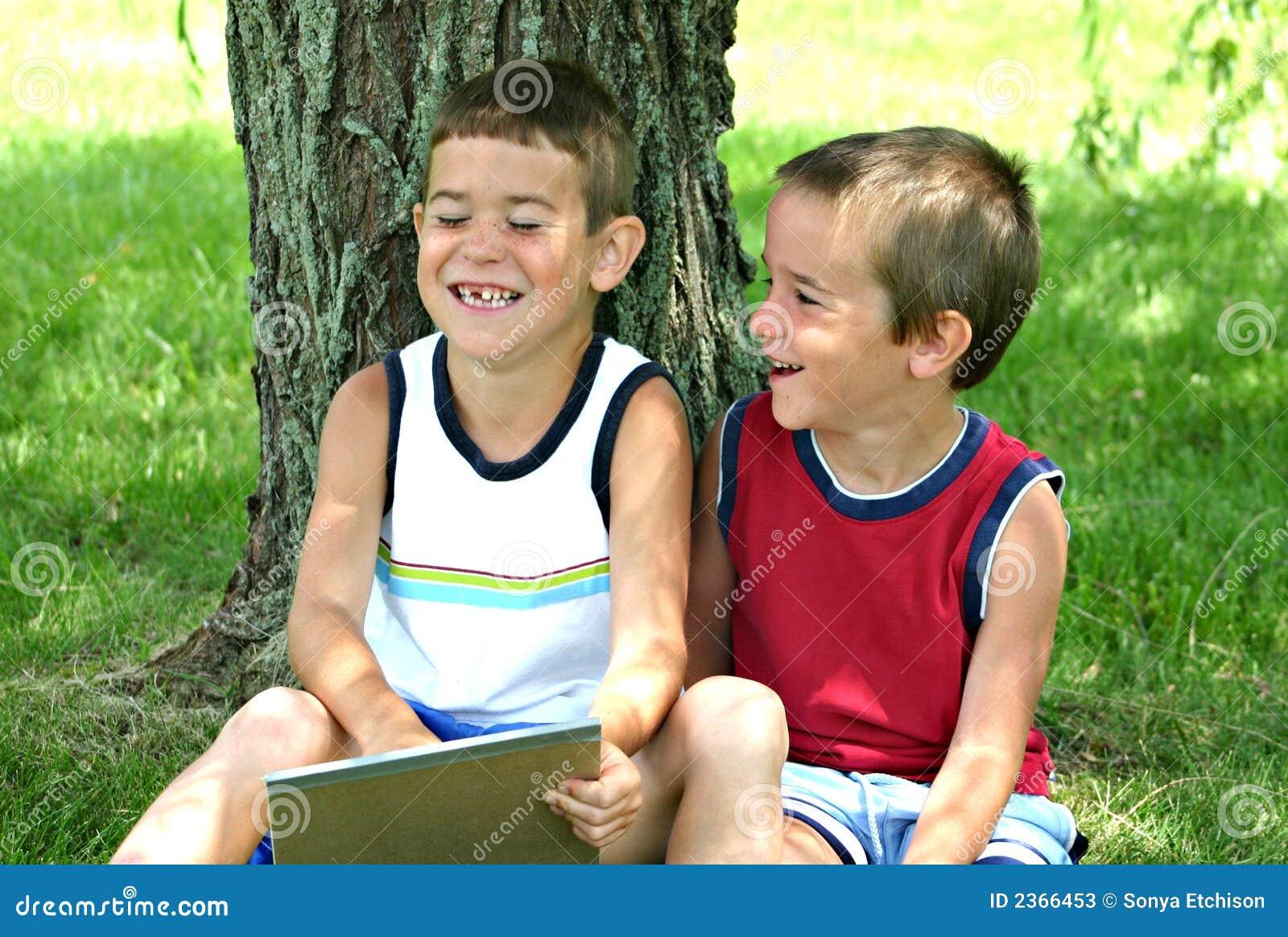 Dzieci się śmiać