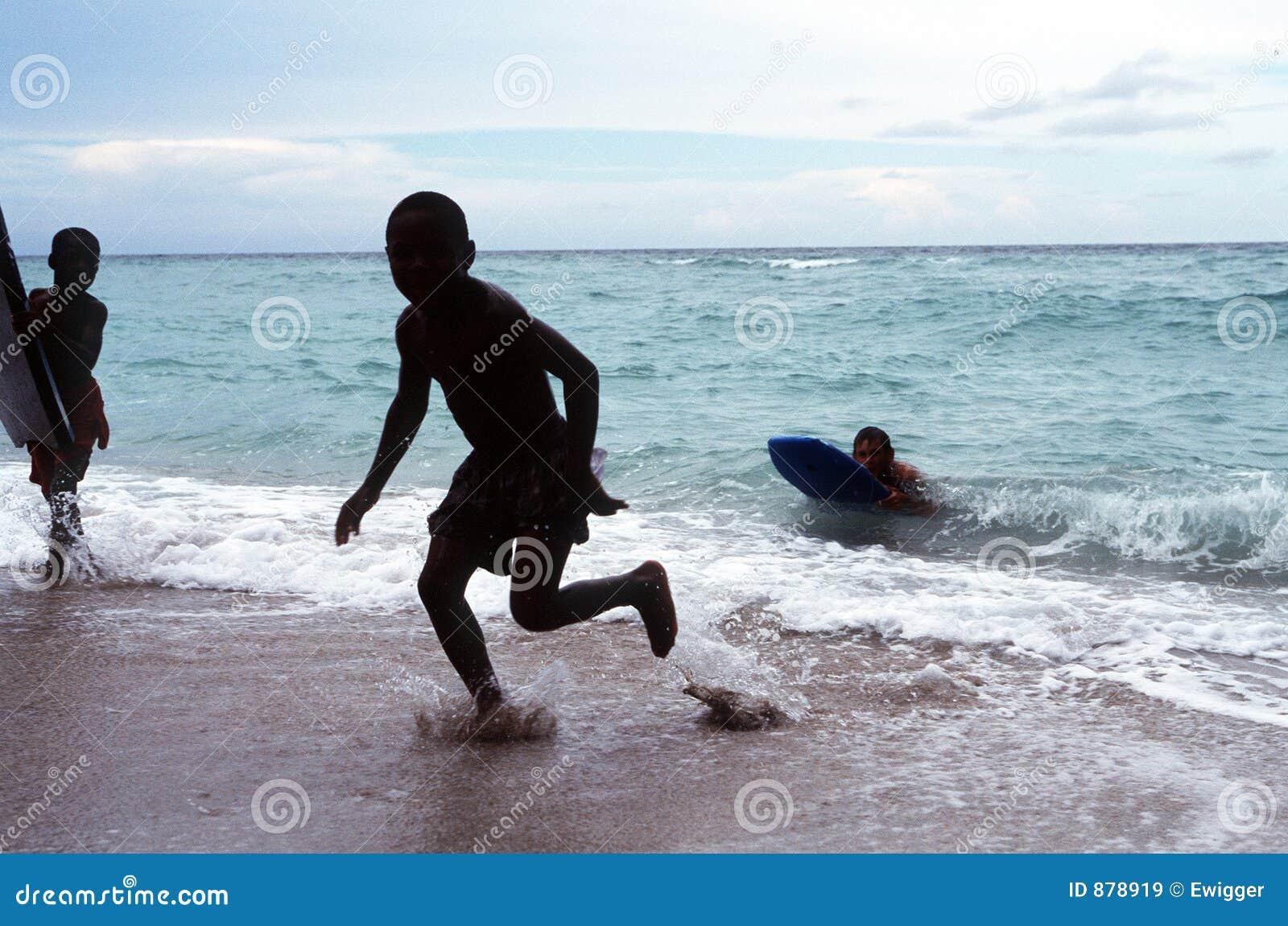 Dzieci surf