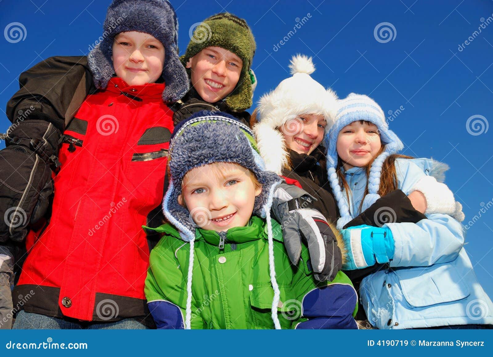 Dzieci ubrania zimowe