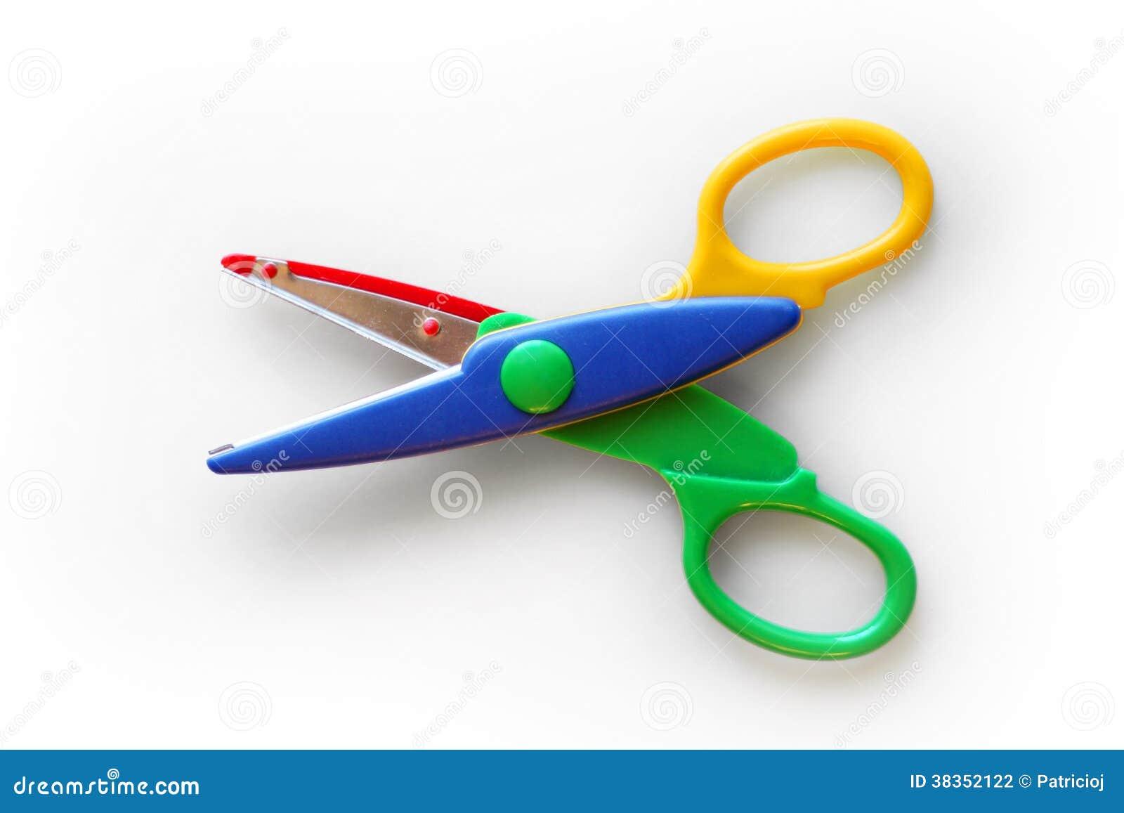 Dzieciak skrytki nożyce