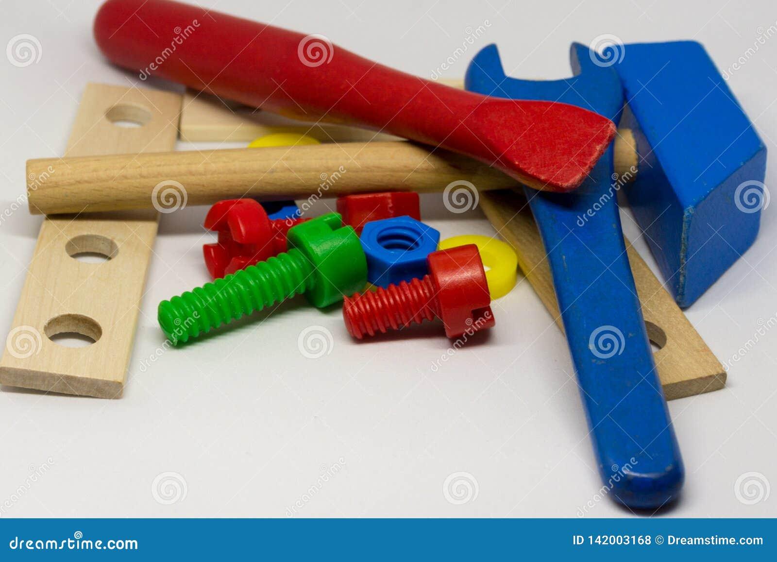 Dzieciak zabawek narzędzia