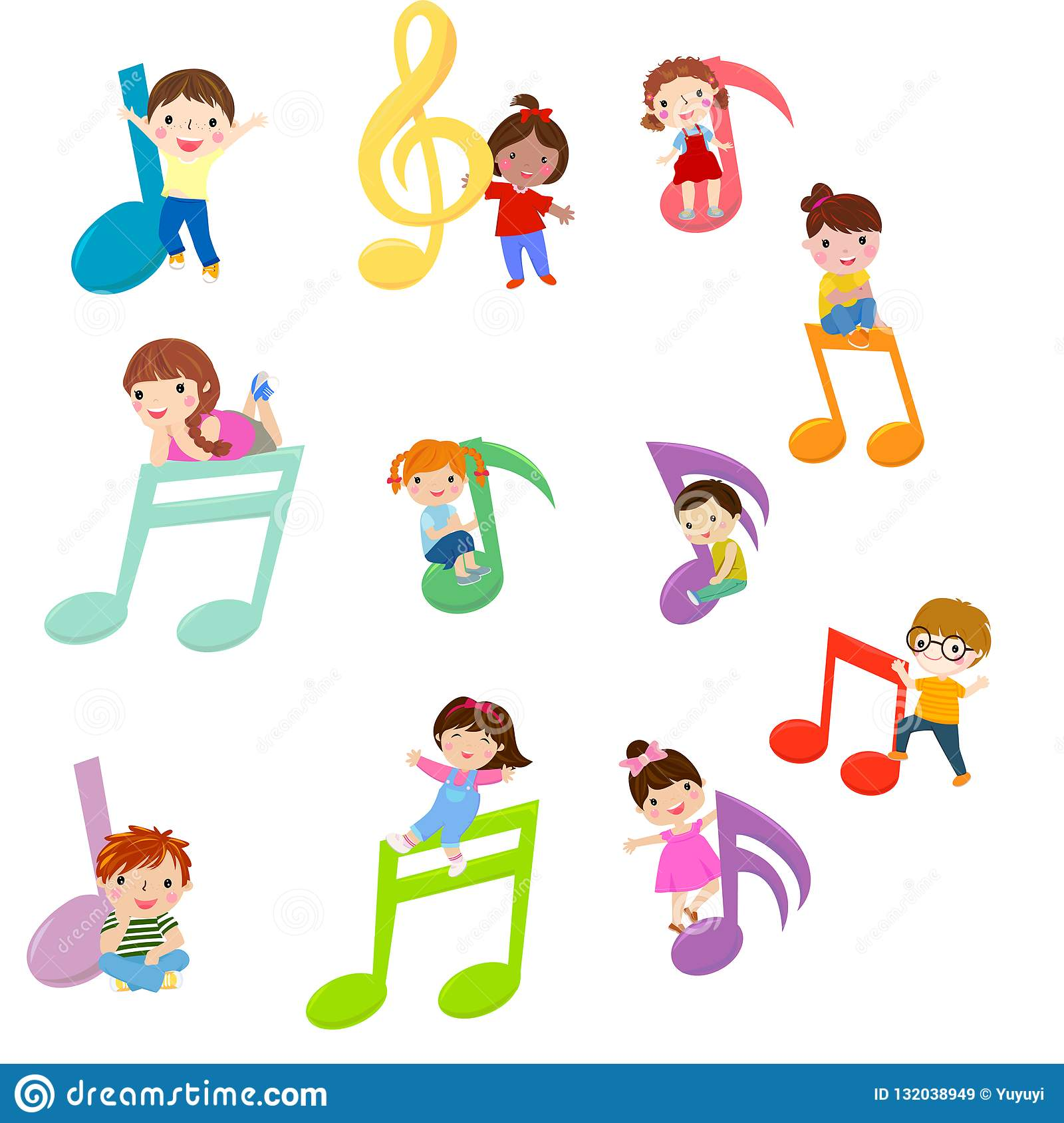Dzieciaki Bawić się z Muzykalnymi notatkami