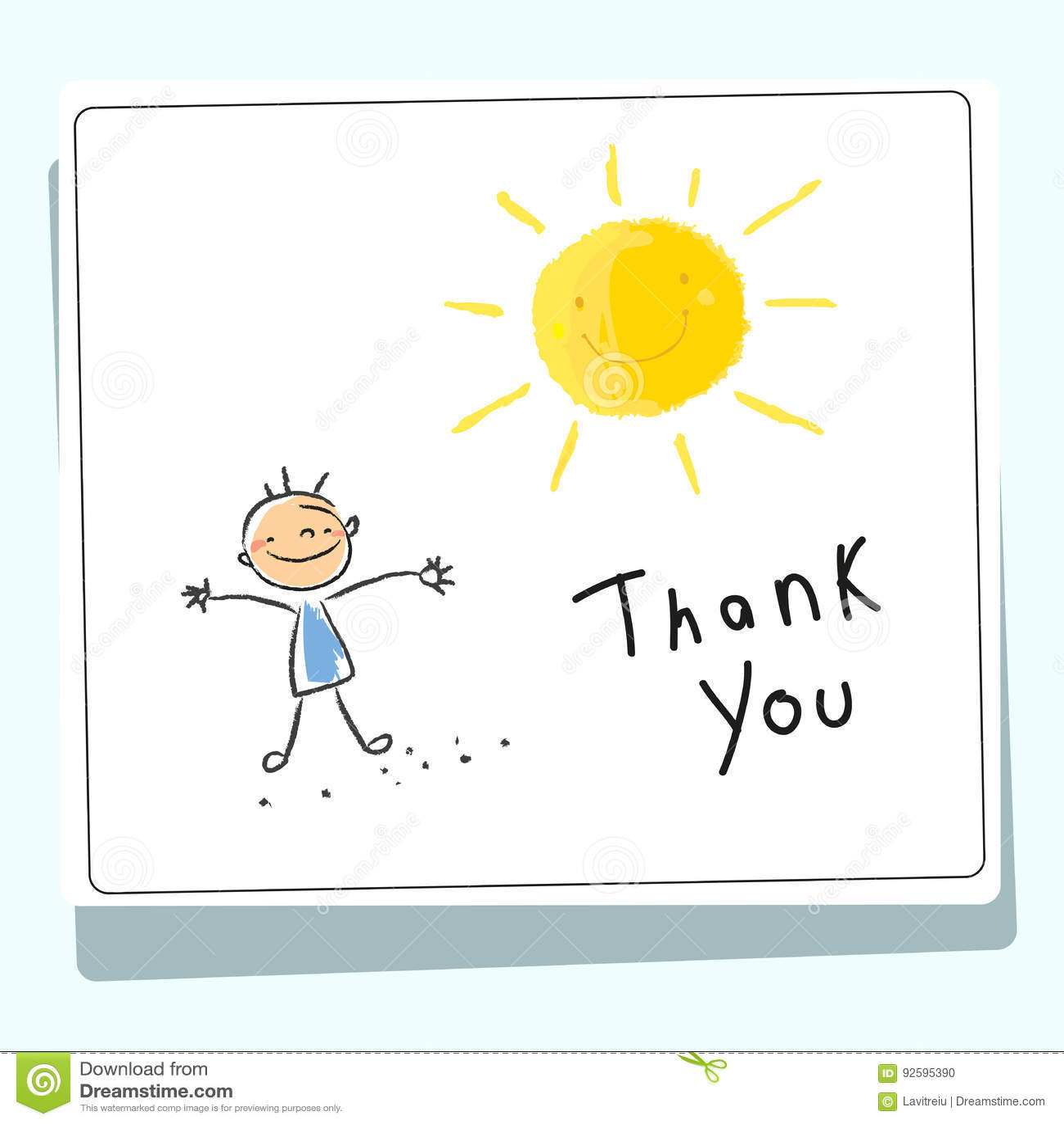 Dzieciaki dziękują was karcianych