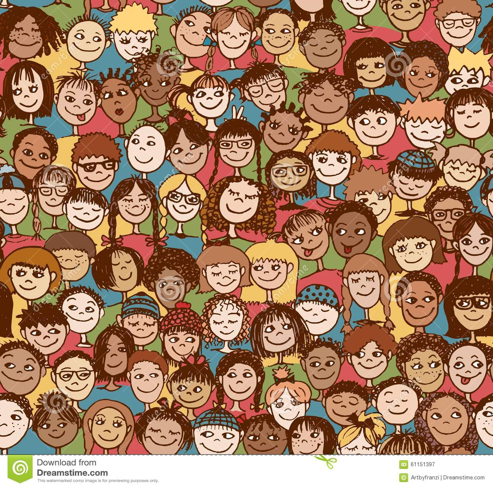 Dzieciaki, dzieci/Bezszwowy wzór
