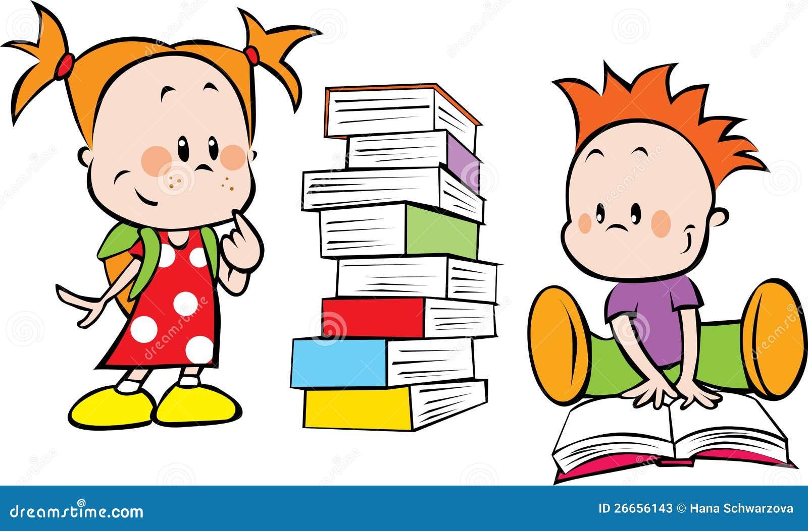 Dzieciaki i książki
