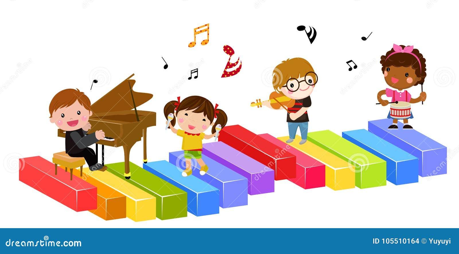 Dzieciaki i muzyka
