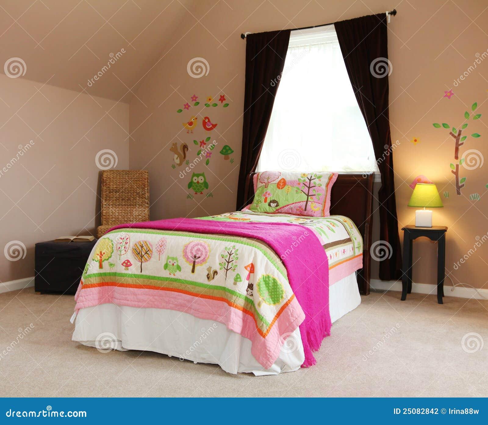 Dziecka łóżka Sypialni Dziewczyny Wewnętrzne Dzieciaków