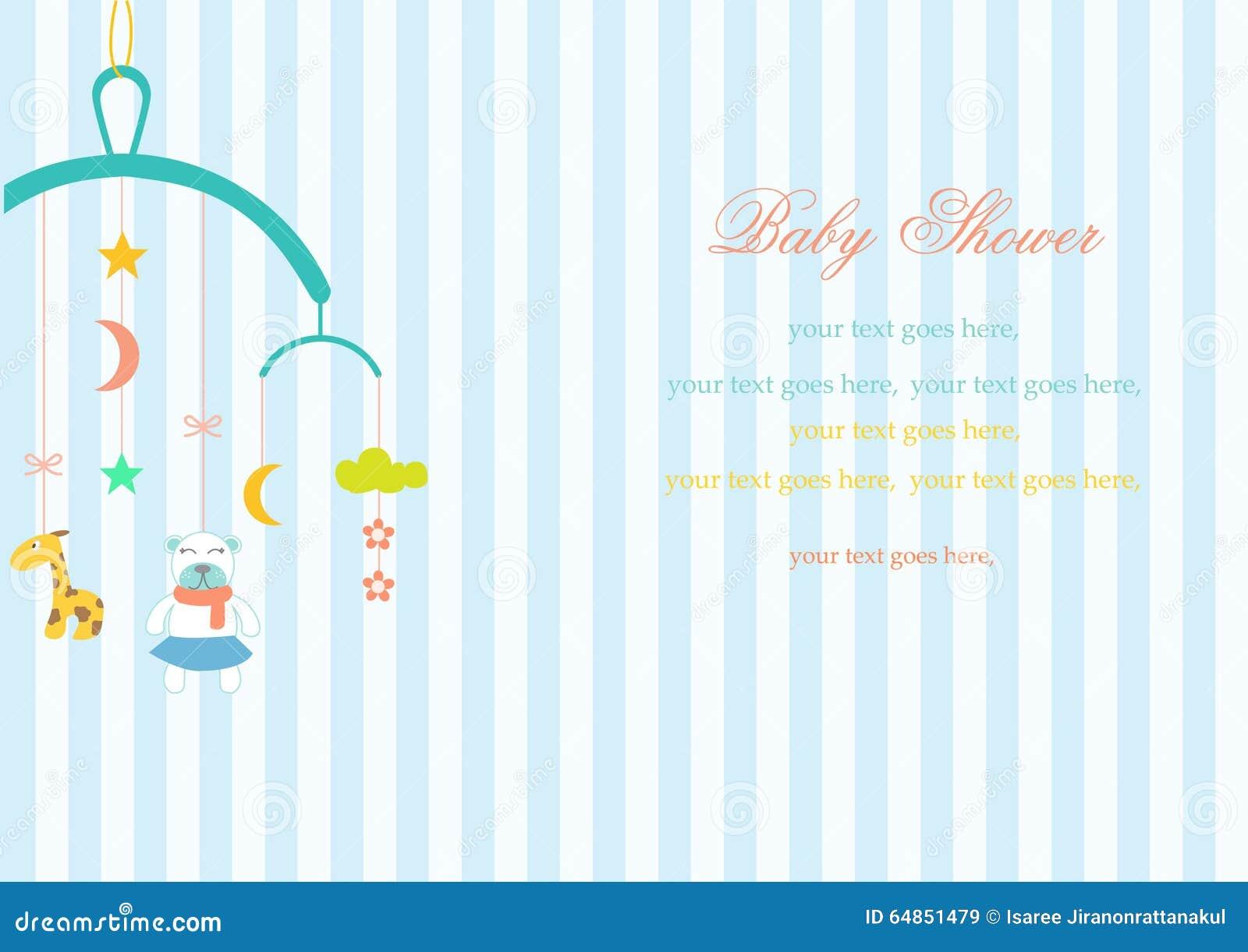 Dziecka ściąga Wiesza Zabawkę Na Lampasów Tło Ilustracji