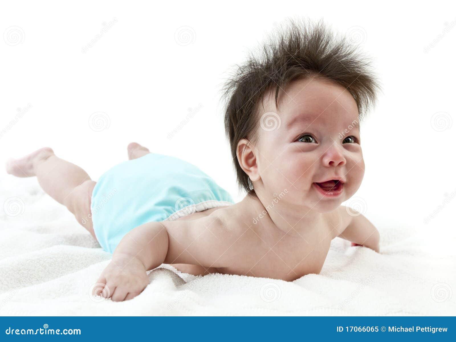 Dziecka czas brzuszek