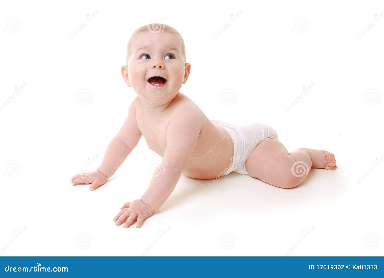Dziecka czołganie