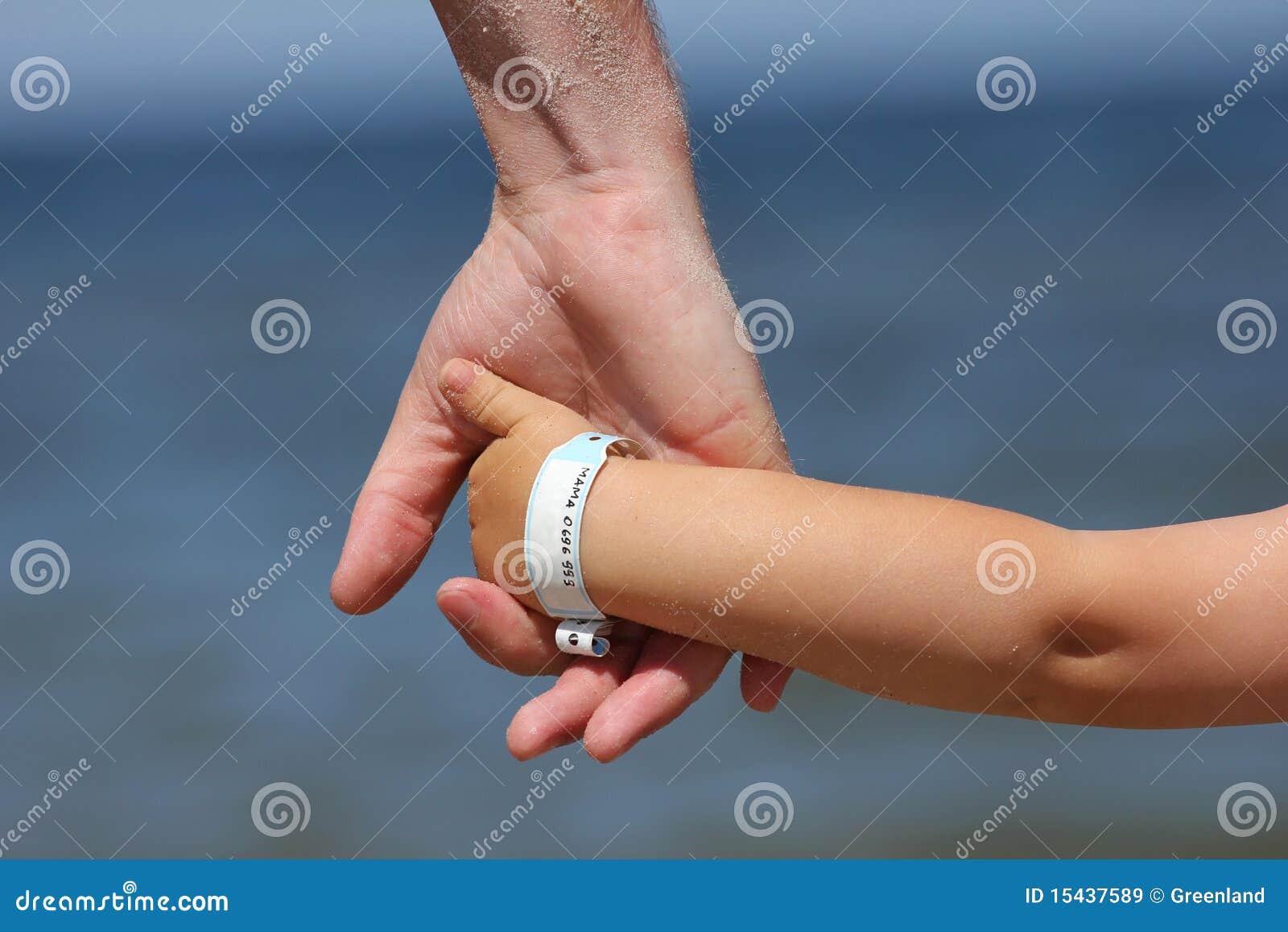 Dziecka info wristband