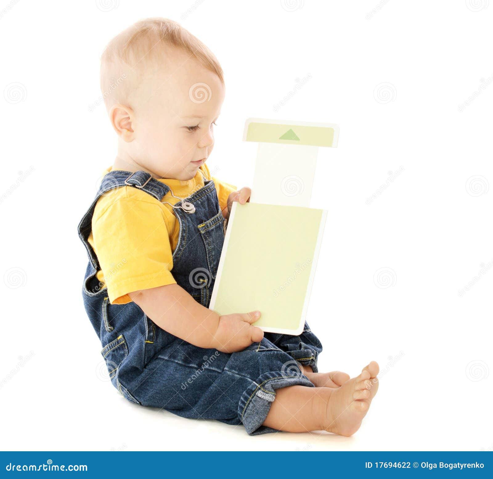 Dziecka karty błysk