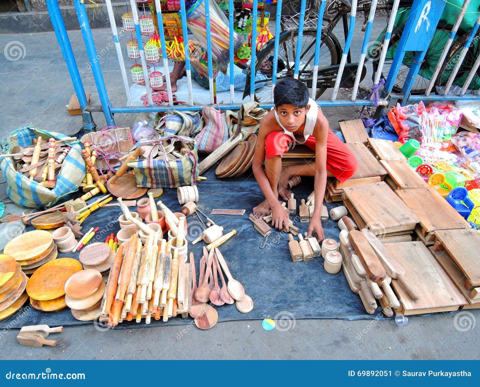 Dziecka sprzedawania kuchenne rzeczy robić drewno