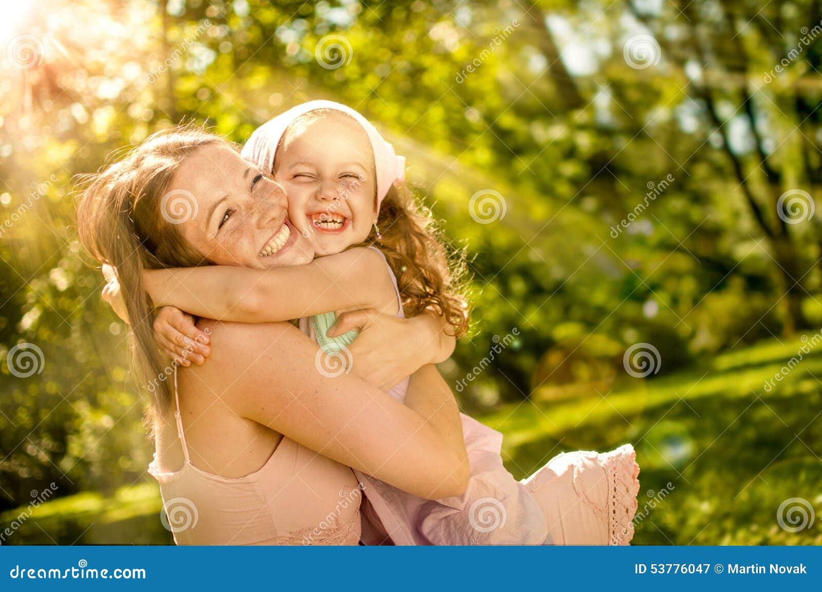 Dziecka szczęście jej matka