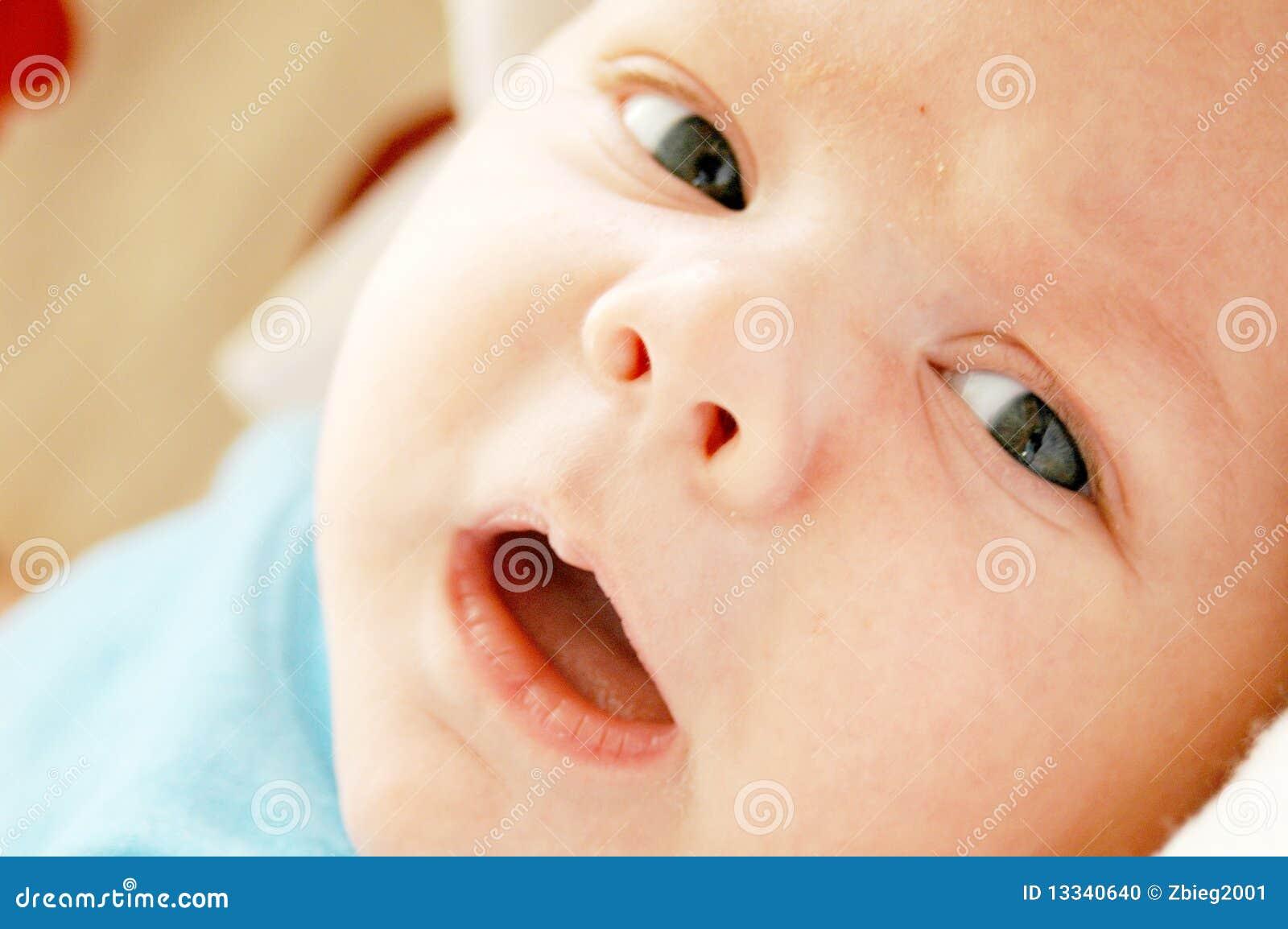 Dziecka twarzy zbliżenie
