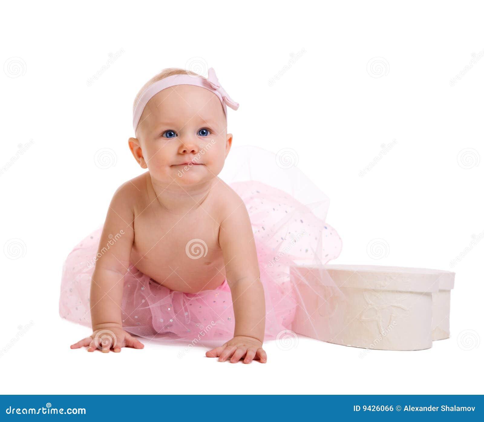 Dziecko balerina