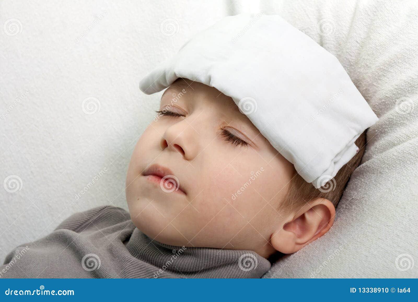 Dziecko febra