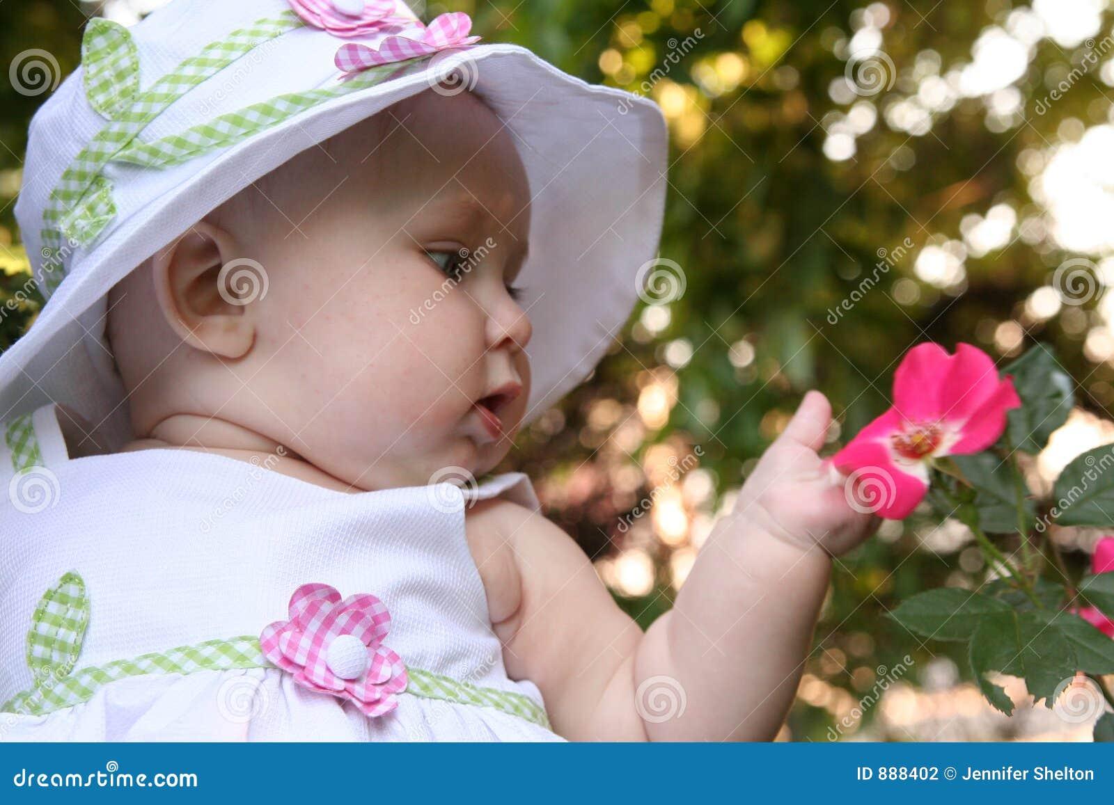 Dziecko kwiat