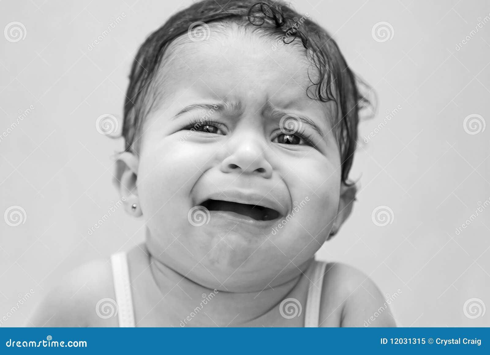 Dziecko martwiący spęczenie