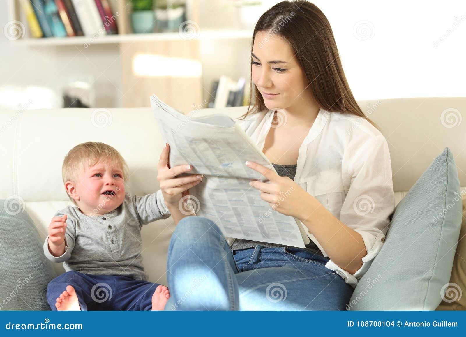 Dziecko matka i