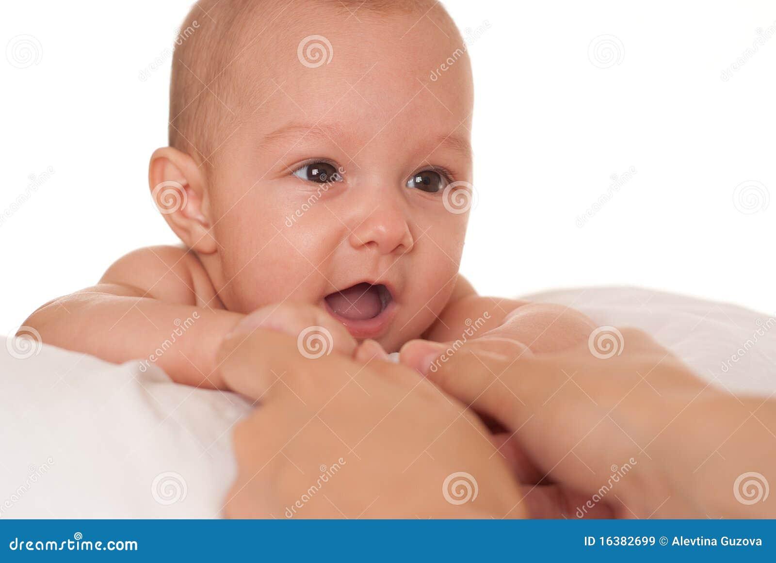 Dziecko na biel