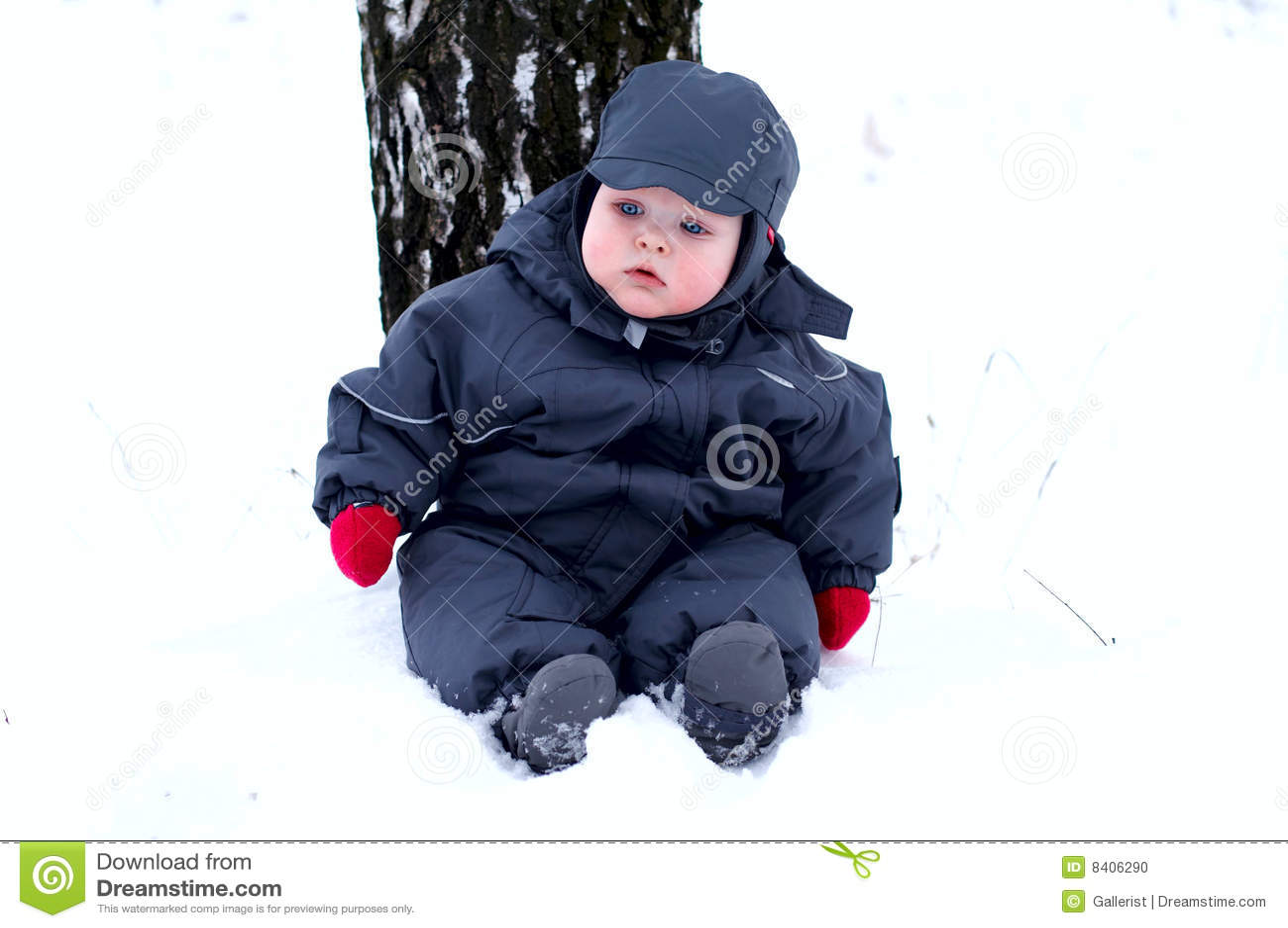 Dziecko najpierw snow
