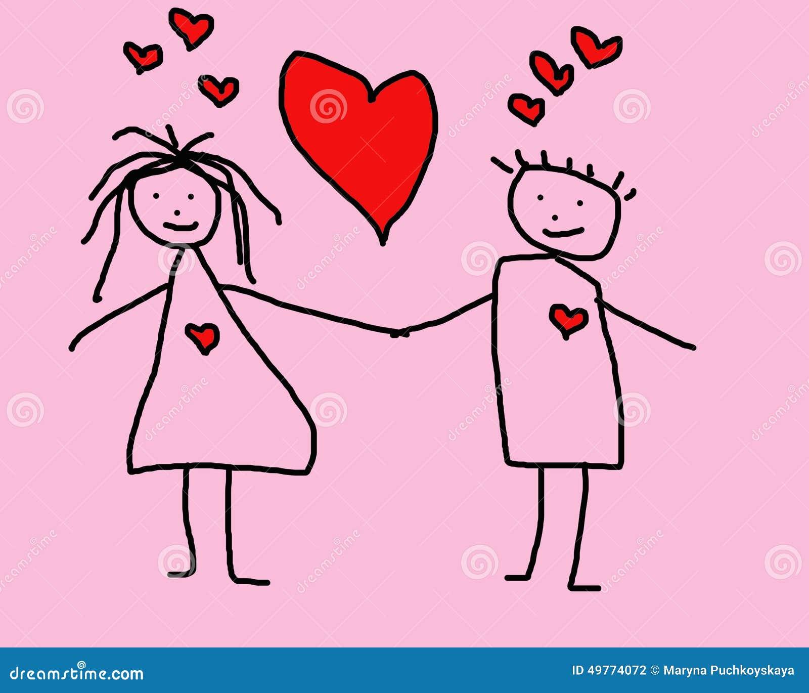 Dziecko obrazek o miłości