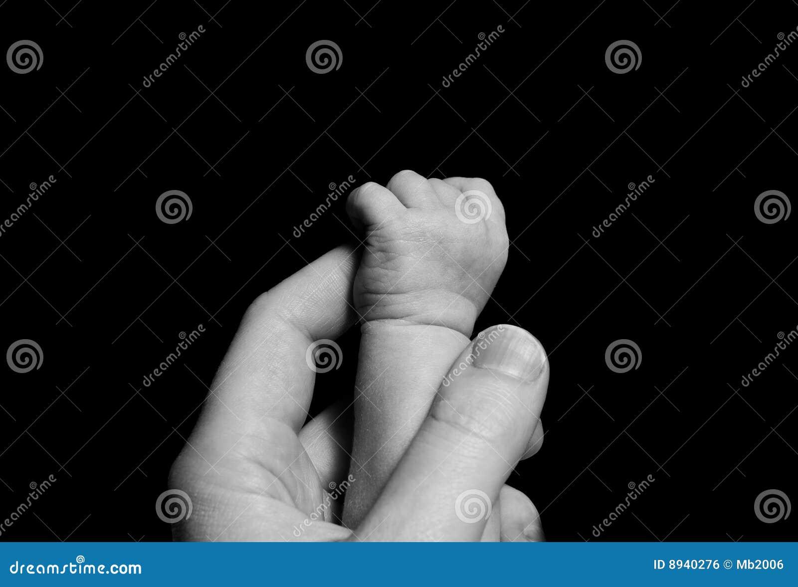 Dziecko ręka