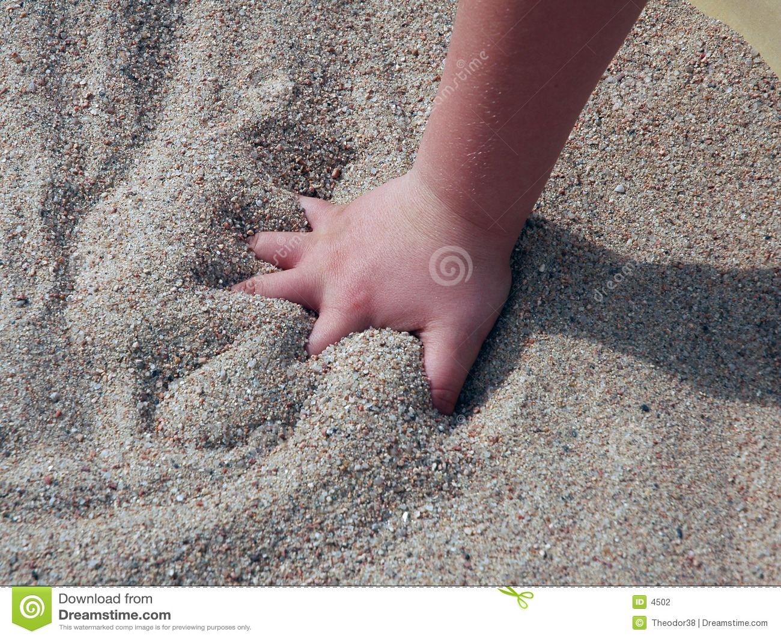 Dziecko ręce