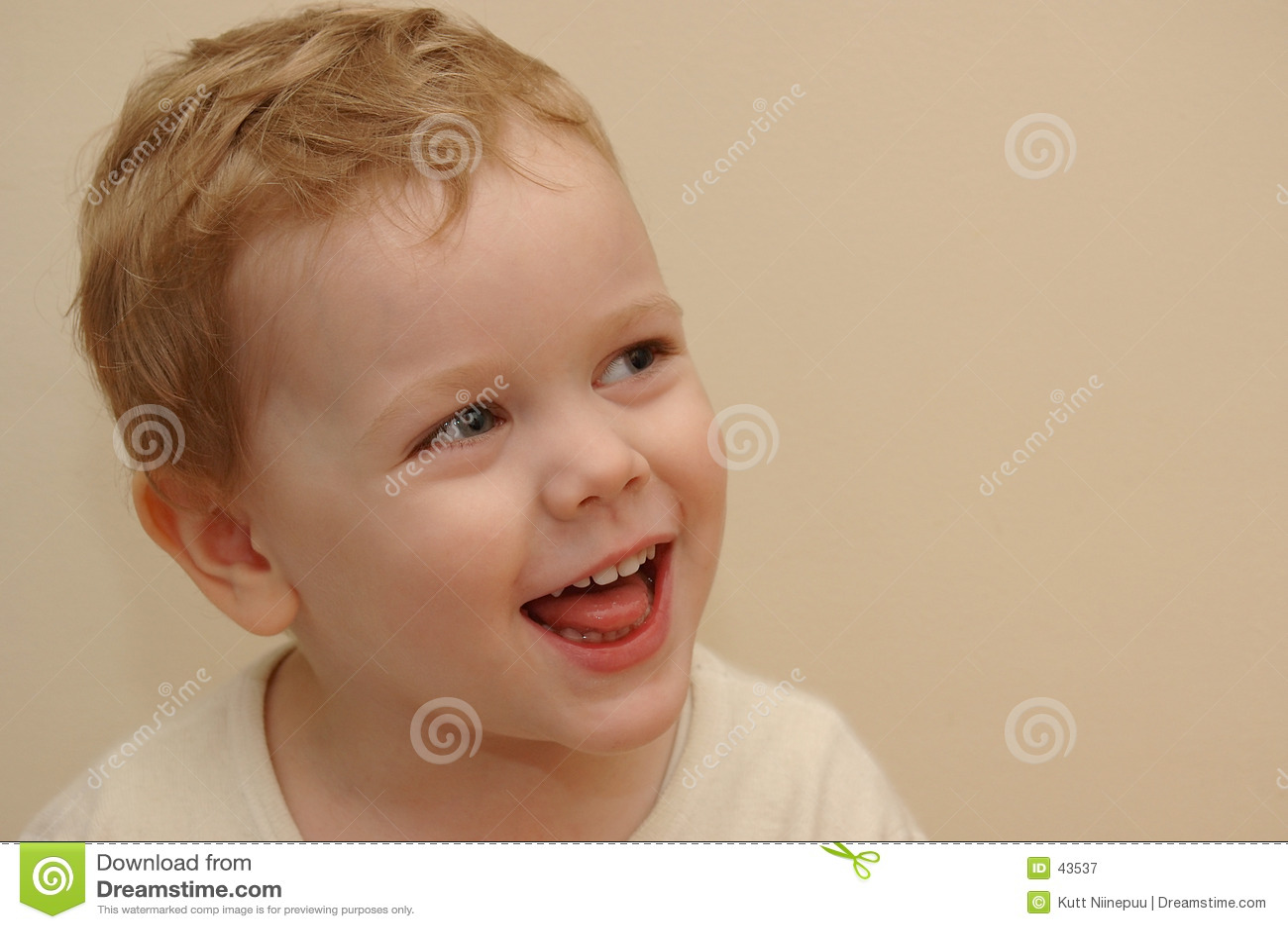 Dziecko się śmiać