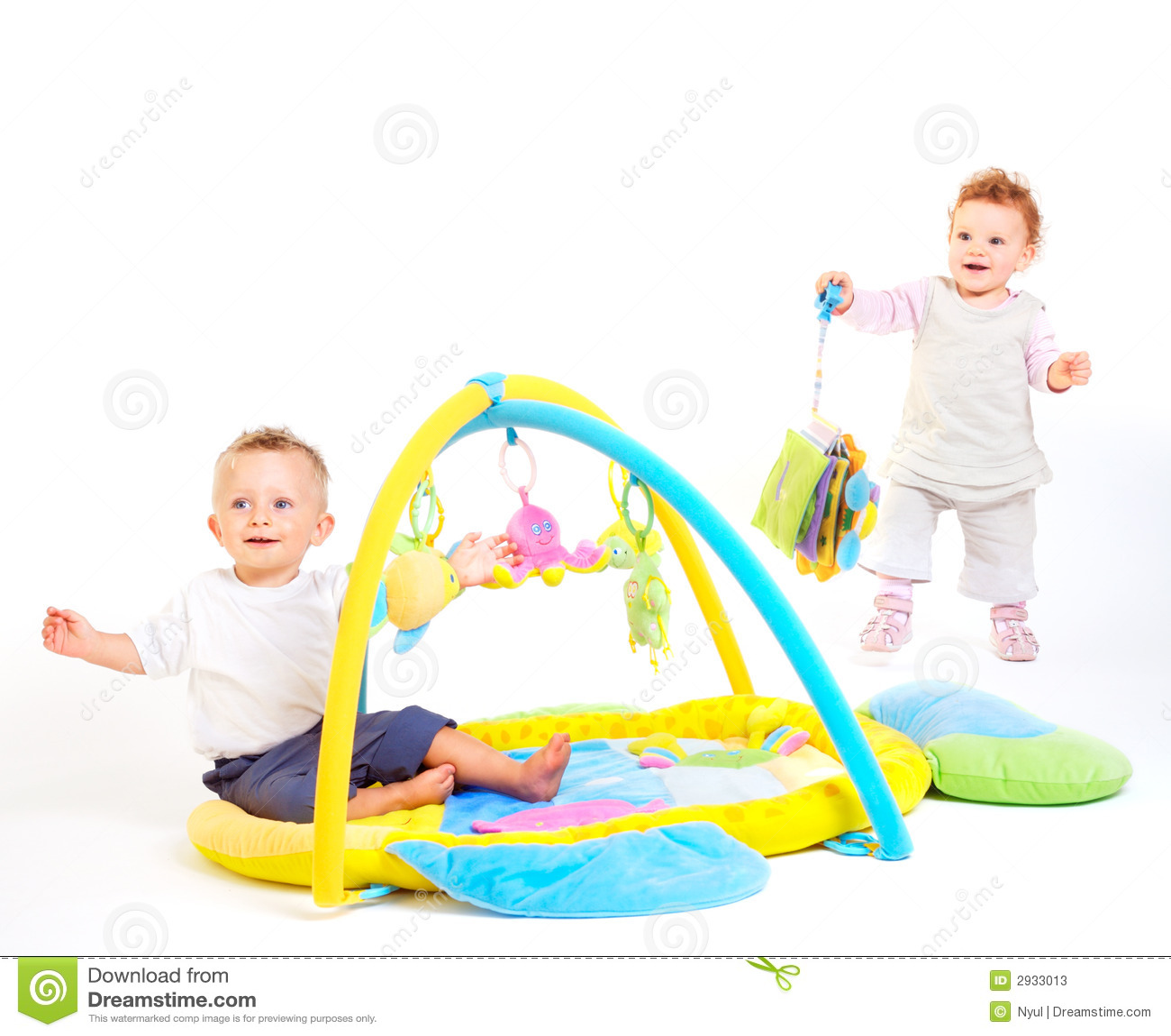 Dziecko sztuki zabawki