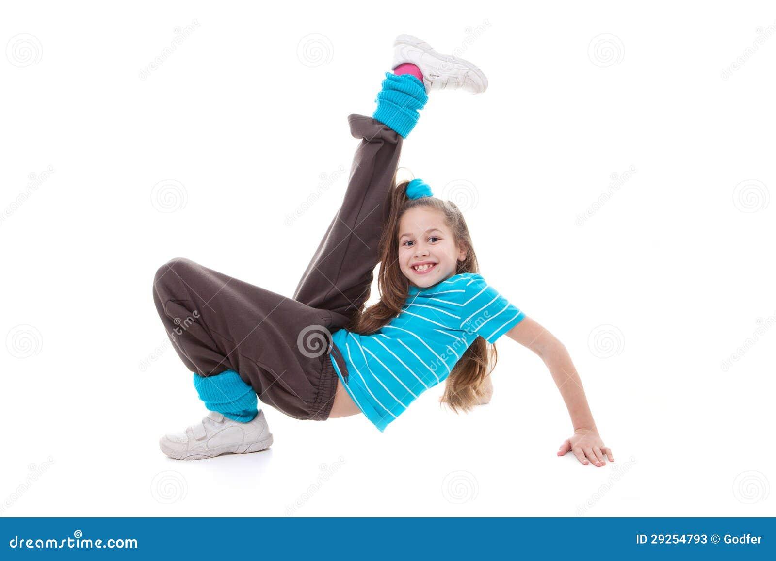 Dziecko tana ćwiczyć