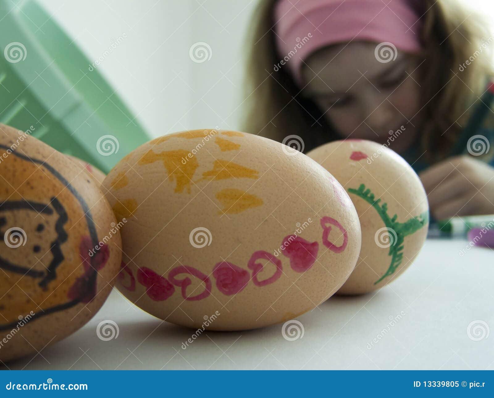 Dziecko target988_0_ Easter jajka