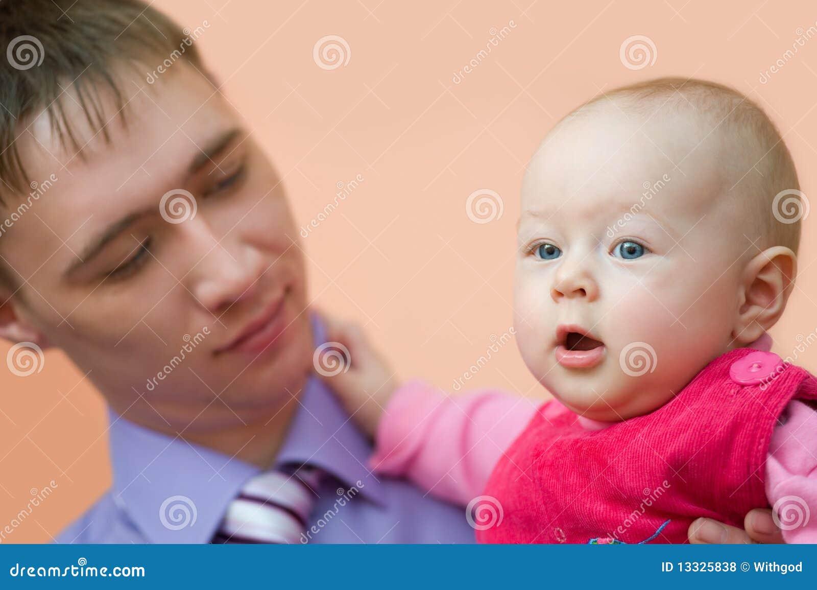 Dziecko tata jego