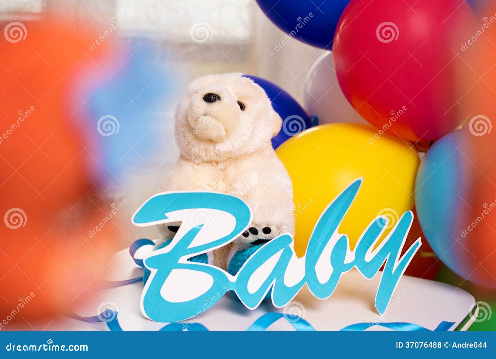 Download Dziecko urodziny zdjęcie stock. Obraz złożonej z jaskrawy - 37076488