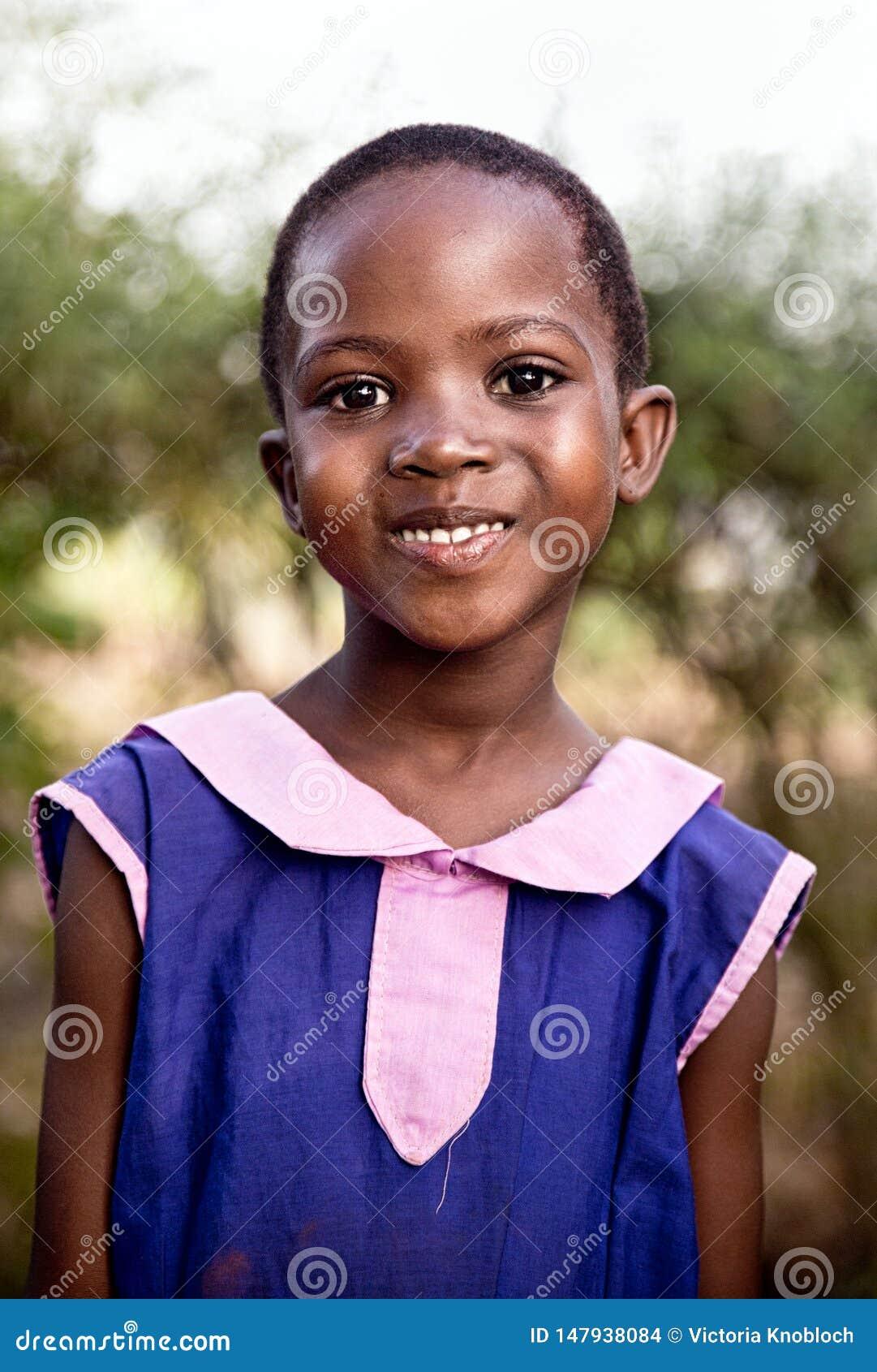 Dziecko w szkole w Uganda