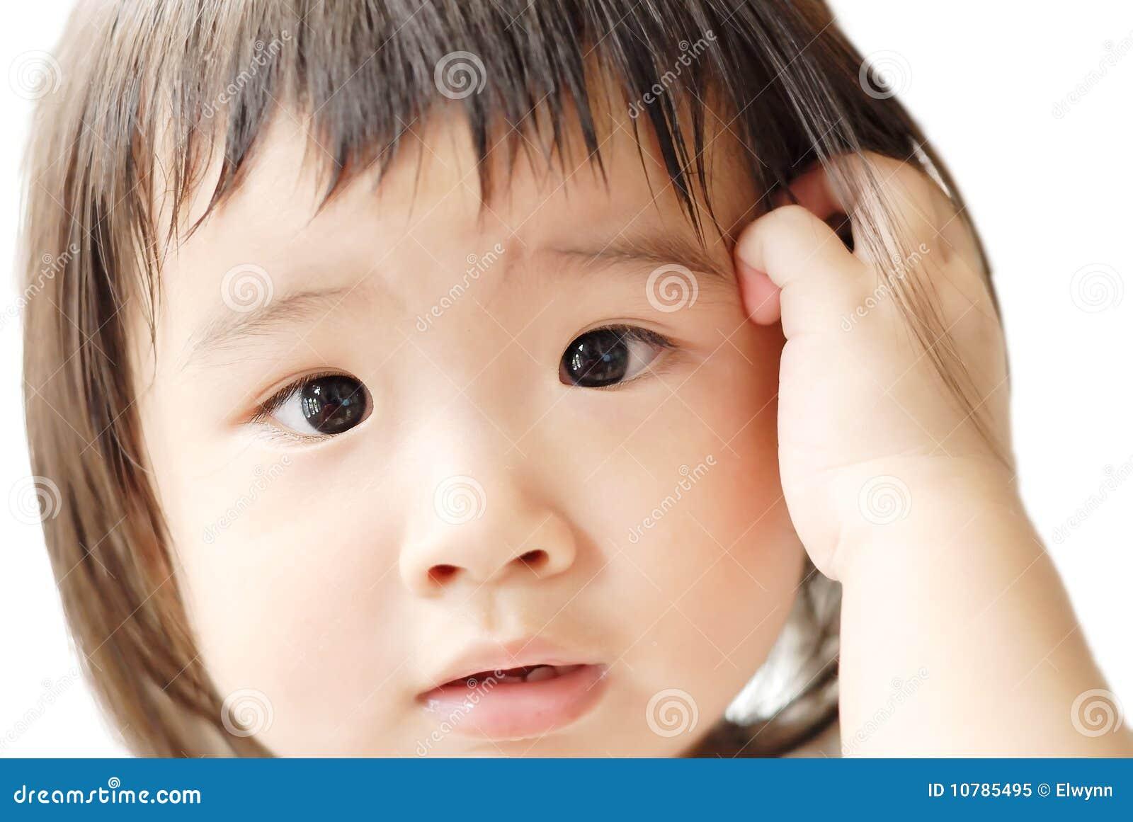 Dziecko wprawiać w zakłopotanie twarz