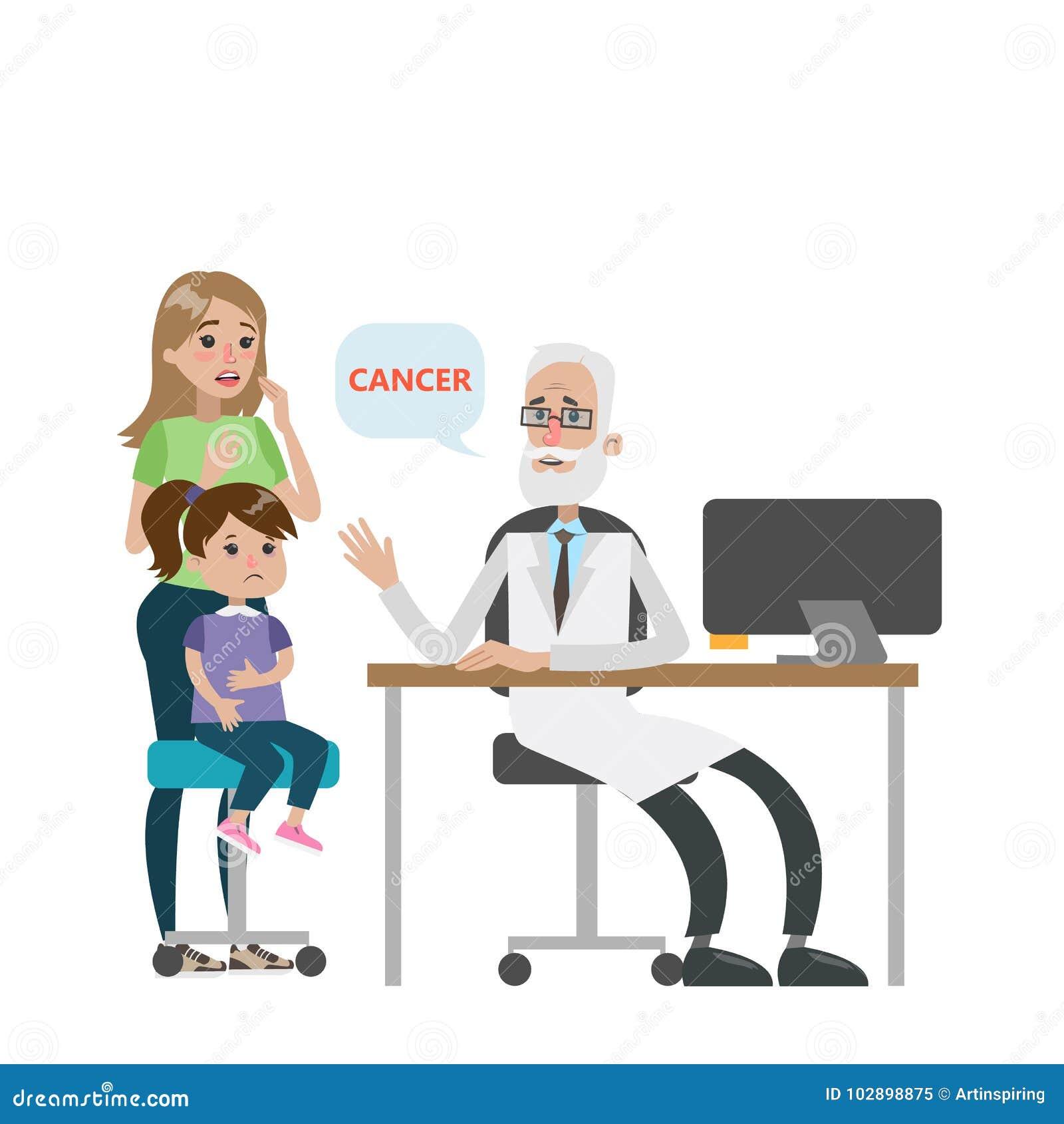 Dziecko z nowotworem