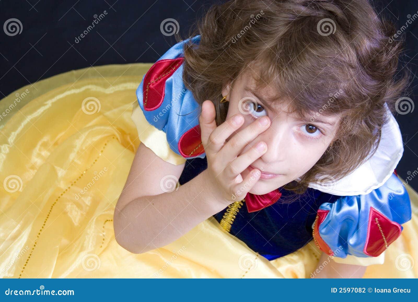 Dziecko zapłakany