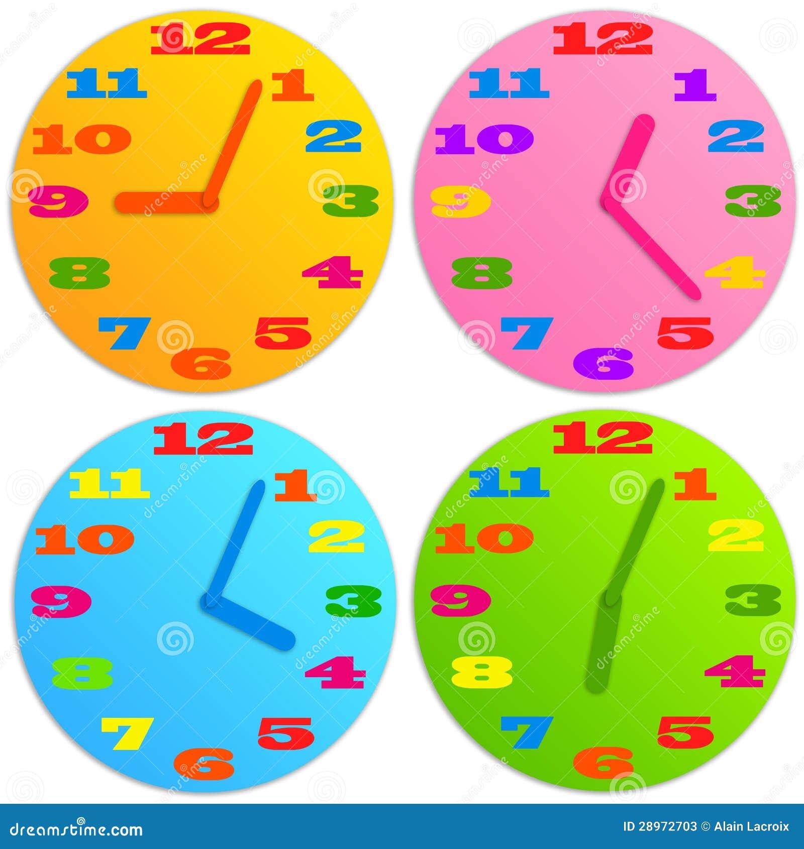 Dziecko zegar