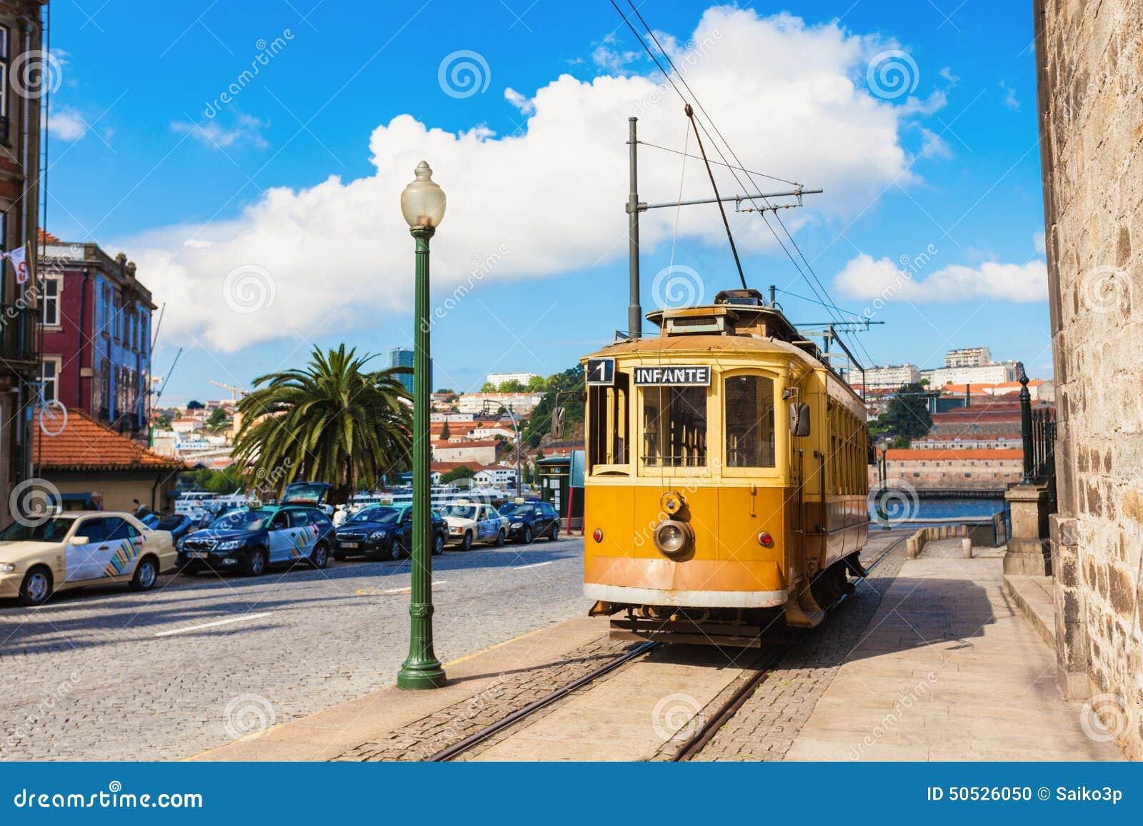Dziejowy tramwaj, Porto