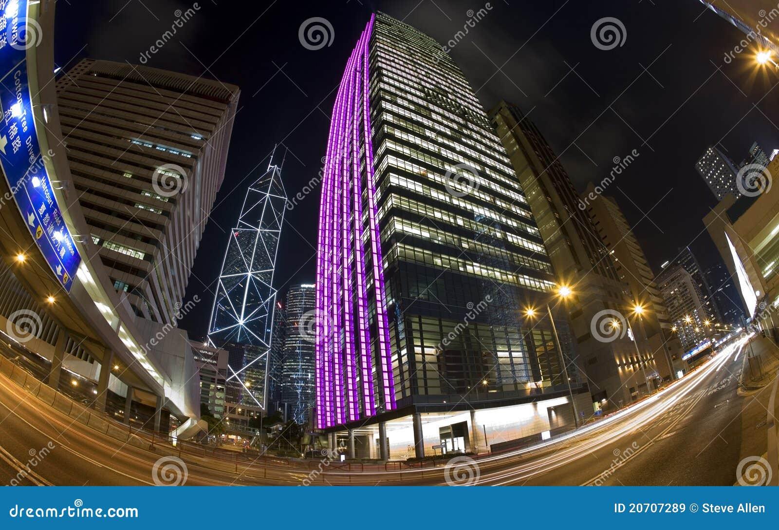 Dzielnica biznesu Hong kong