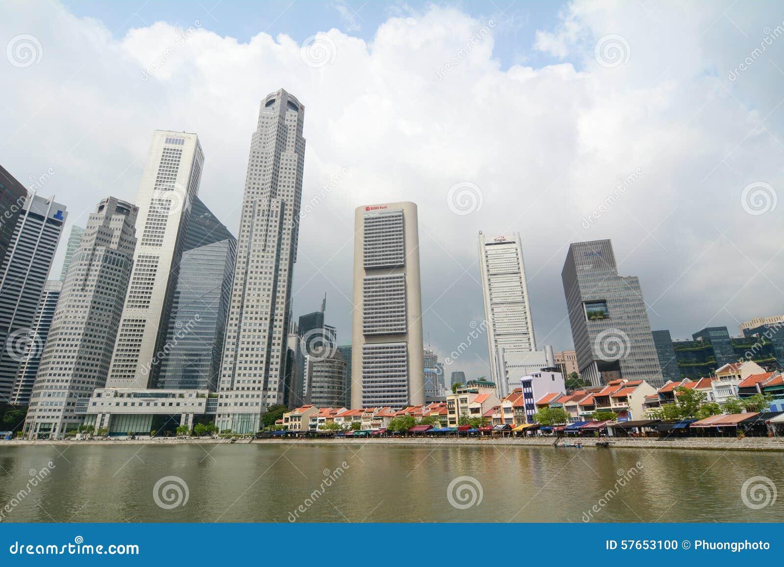 Dzielnica biznesu Singapur
