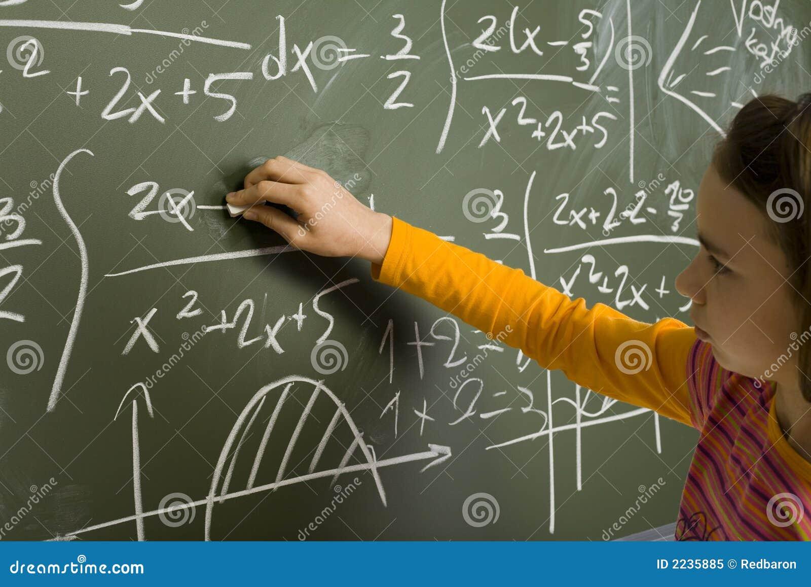 Dziewczyn do matematyki
